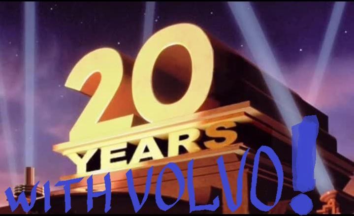 20 лет с Volvo !!!